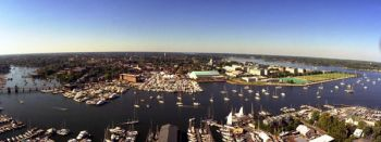 Panoramic view of Annapolis